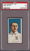 Rare 1909-11 T206 Emil Batch Piedmont 350 Rochester Minor League PSA 5 EX