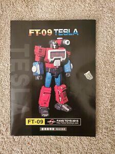 Transformers Masterpiece Perceptor Fans Toys  FT 09 Tesla