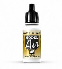 VALLEJO AIRBRUSH PAINT - MODEL AIR - WHITE 17ML - 71.001