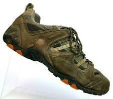 Hi-Tech Adventure Brown Suede Hiking Trail Shoes T100 Carbon S209512 Men's 12