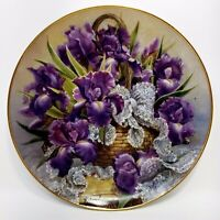 Mogambo Iris Plate by FRANKLIN MINT Collector Plate