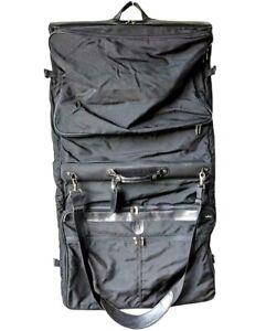 HARTMANN Luggage Intensity Garment Bag with Tag Shoulder Strap Folding Vintage