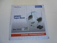 Desch TAPER BUSH Buchse Spannbuchse Type 1210 Bohrung 20mm | NEU | OVP