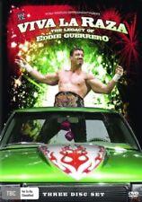 Viva La Raza: The Legacy of Eddie Guerrero (DVD, 2008, 3-Disc Set)