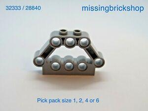 LEGO Technic Pin Connector Block 1 x 5 x 3 Light Bluish Grey 32333 28840 NEW