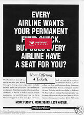 ALASKA AIRLINES 1995 WANTS YOUR PERMANENT FUND CHECKS WE HAVE SEAT FOR YOU AD