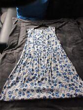 Süßes weiß-blaues Kleid von Primark - Gr. 42