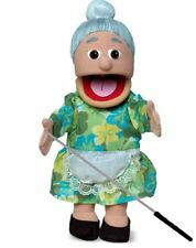 Silly Puppets Granny (Hispanic) Puppet Bundle 14 inch with Arm Rod