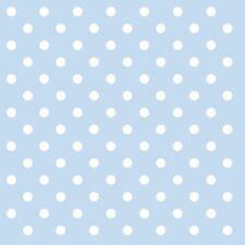 Blu Bianco a Pois 3-ply 20 Carta Tovaglioli 33cm x 33cm - 33 x 33cm