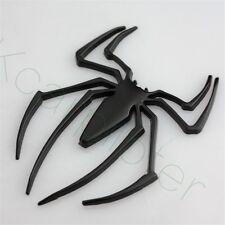 1Pcs Metal Black Spider-Man Logo Car Side Door Rear Trunk Lid Sticker Emblems