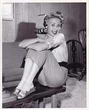 JANE POWELL Original CANDID Hollywood Home Vintage 1950s MGM Portrait Photo