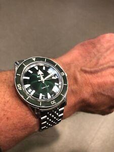 RADO CAPTAIN COOK GREEN DIAL 42mm