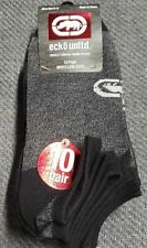 Marc Ecko Unltd 10 Pair Men's Low Cut  Socks W / LOGO Rhino. 10 Pairs