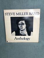 THE STEVE MILLER BAND ANTHOLOGY 1972 DOUBLE  VINYL LP CAPITOL RECORDS CLASSIC