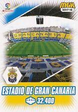 319 ESTADIO DE GRAN CANARIA ESPANA UD.LAS PALMAS  CARTA CARD MGK 2018 PANINI