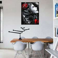 DIY Full Drill 5D Diamond Painting Beauty&Skull Embroidery Cross Stitch Great