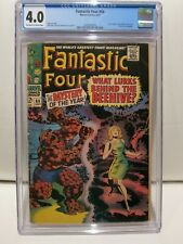 Fantastic Four #66 Sept 1967 Marvel Comics CGC 4.0 Off White/White Pages