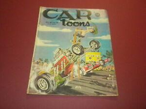 CARTOONS/CAR TOONS magazine 1963 April/May - Petersen Publishing racing hot rods