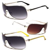 Classic Retro Vintage Men Women Fashion Shield Large Sunglasses Sports Glasses s