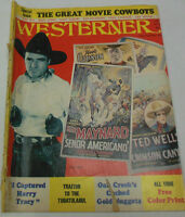 Westerner Magazine Traitor To The Tubatulabul July/August 1972 071814R