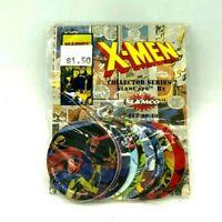 X-Men Marvel Collectors Series 2 Slamco Slam Caps Pogs 1994 Comics Sealed