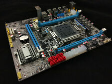 L@@K Intel X79 LGA 2011 Computer Motherboard DDR3 1866 Supports WITH i7/XEON