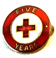 American Red Cross 5 Year Service Pin - Older Version