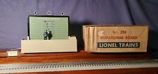 LIONEL #334 DISPATCHING BOARD 1957-60 O GAUGE