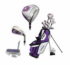 NEW Precise M5 Ladies Womens Right Handed Golf Club Set - TALL SIZE - PURPLE
