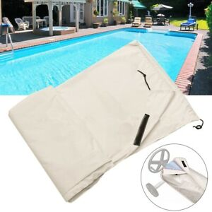 Open Air Swimming Pool Roll Cover Waterproof Protector For Outdoor Practical
