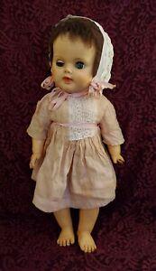 "Vintage Vinyl/Hard Plastic Girl Doll Marked G20 7W 19"""