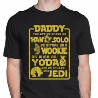 Father's Day Dad Star Wars Shirt