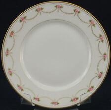 Bernardaud Pink Flowers Gold Dot Swags BER126 Salad Plate VGC