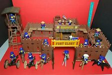 Playmobil Western FORT GLORY LOT SOLDIERS 5th US Cavalry Infantry Army CIVIL WAR