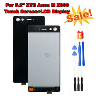 """For 5.2"""" ZTE Axon M Z999 Front LCD Display Touch Screen Digitizer Assembly+Tools"""