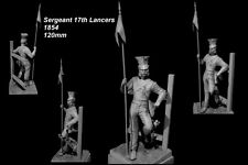 CGS Military Figs 17th Lancer Sergeant Crimea 1854 120mm Unpainted kit CORRY