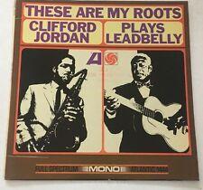 "Clifford Jordan LP ""These Are My Roots"" Atlantic ~Mono ~ White Label Promo~ RARE"