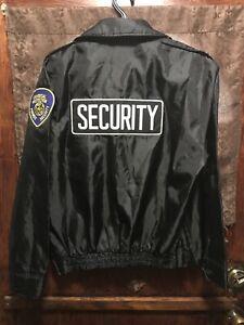 SECURITY JACKET ~ Men's M /L  ~ LAW PRO by Quartermaster Waterproof Windbreaker