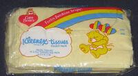 Vintage 1985 Care Bears American Greetings Yellow Kleenex Tissue Pocket Pack