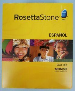 Rosetta Stone Spanish Level 1 & 2 Version 3, Español