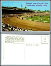 KENTUCKY Postcard - Louisville, Churchill Downs, Kentucky Derby L42