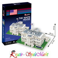 Cubic Fun - 3D Puzzle The White House Weißes Haus Washington USA Mittel
