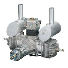 DLE Engines DLE-40cc Twin Gas w/Elec Ignition & Muffler DLE-40