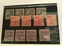 Germany  1946 Reconstruction Fund mint never hinged stamps R22429