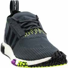 adidas Nmd_Racer Primeknit Lace Up  Mens  Sneakers Shoes Casual   - Black - Size