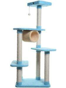 Premium Multi-Level Cat Tree with Tunnel by Armarkat