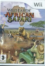 Wild earth african safari = NINTENDO Wii = aventure = afrique = animaux = 3+ ans = photo