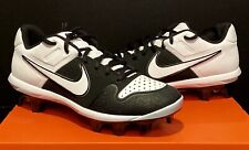 NEW NIKE ALPHA HUARACHE VARSITY LOW MCS BASEBALL MOLDED CLEATS BIG BOYS MENS 7.5