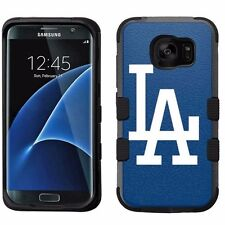 for Samsung Galaxy S7 Edge Armor Impact Hybrid Cover Case Los Angeles Dodgers