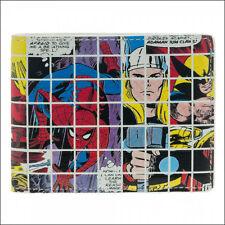 Marvel Comics Spider-Man Thor Wolverine Hulk Iron Man Grid Collage Bifold Wallet